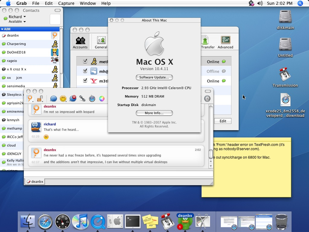 Kunena:: topic: mac os x 10. 4 tiger download dvd (1/1).