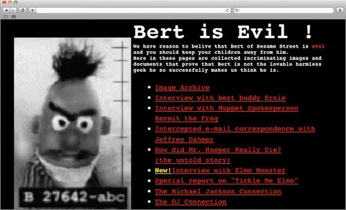 Bert Is Evil